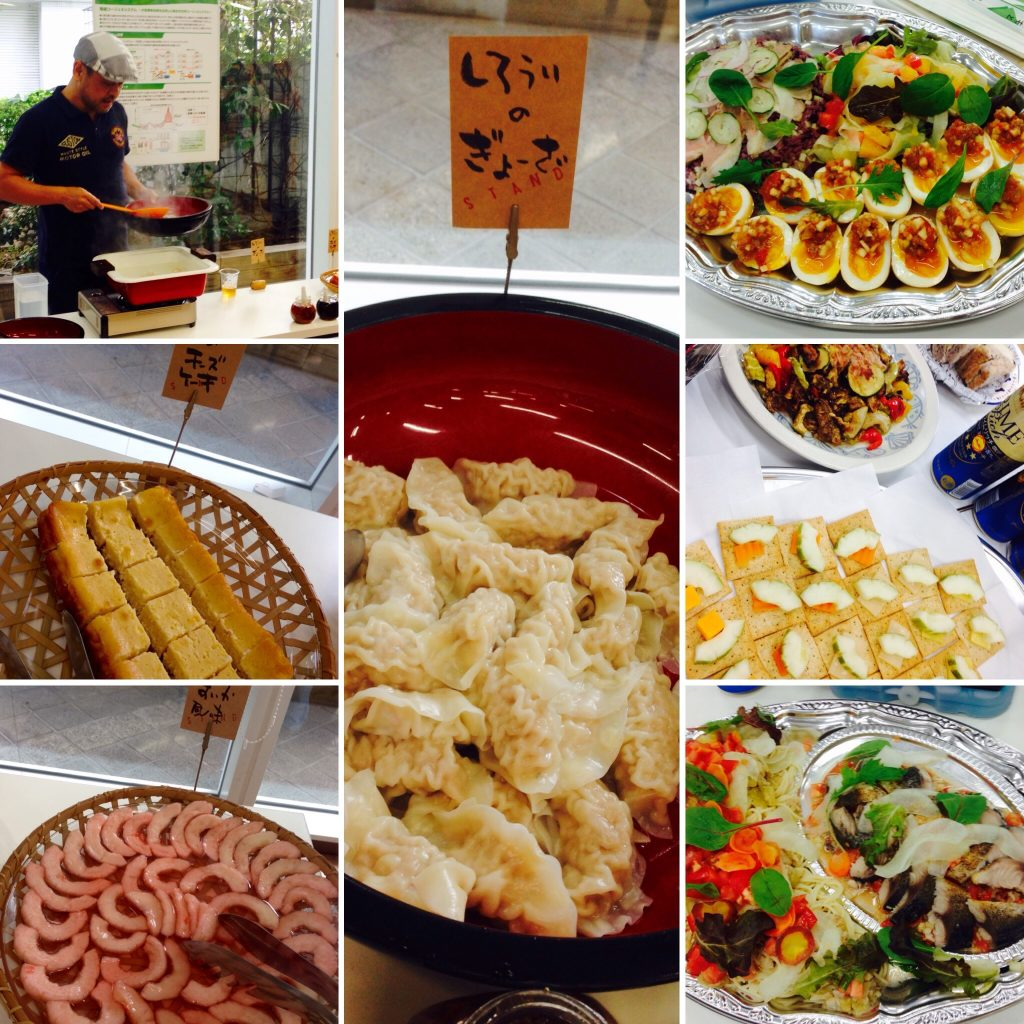 収穫祭の料理